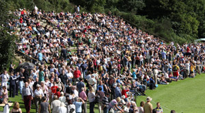 Pitlochry Highland Games Crowd